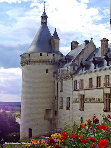 Chateau de Chaumont sur Loire - Gothic tower