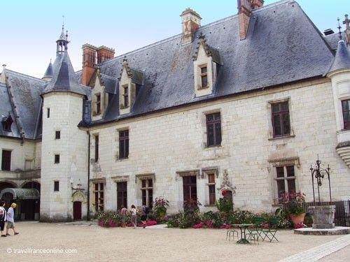 Chateau de Chaumont sur Loire - Gothic wing