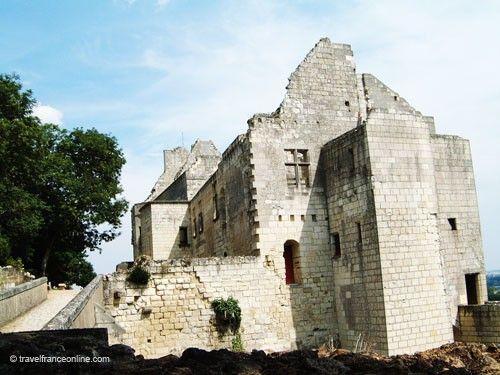 Chateau de Chinon - Logis Royal