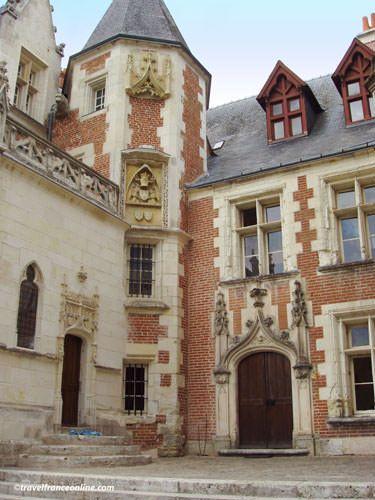 Chateau du Clos Luce - Oratory of Anne de Bretagne