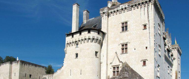 Chateau de Montsoreau and A. Dumas' novel