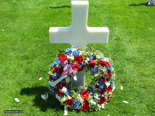 Colleville-sur-mer American cemetery - Remembering a loved-one...
