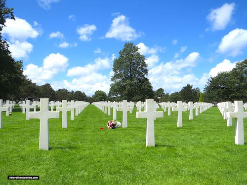 Colleville-sur-mer American cemetery during D-Day 75th Anniversary