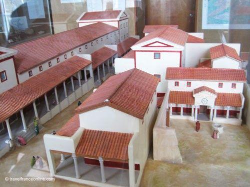 Corseul - Monterfil District model