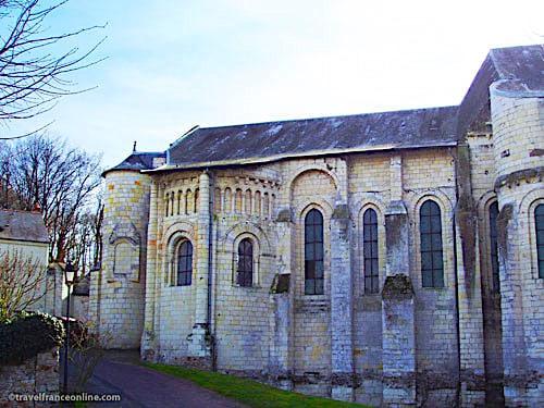 Cunault Abbey Church north apse
