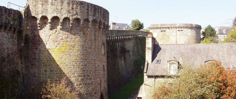 Dinan ramparts – Historical city – Brittany