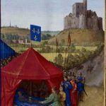 Death of Bertrand du Guesclin