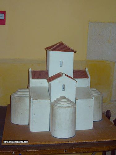 Germigny des Pres Church model