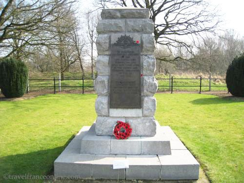 Hill 60 Ypres Salient - Australian 1st Tunnelling COY Memorial
