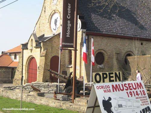 Hooge Crater - Hooge Chapel Museum