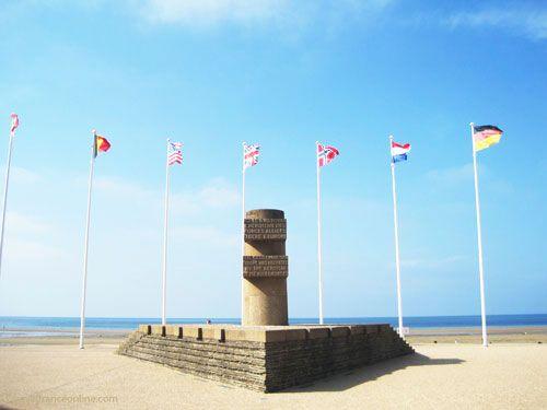 Liberation Monument in Bernières-sur-mer - Juno Beach