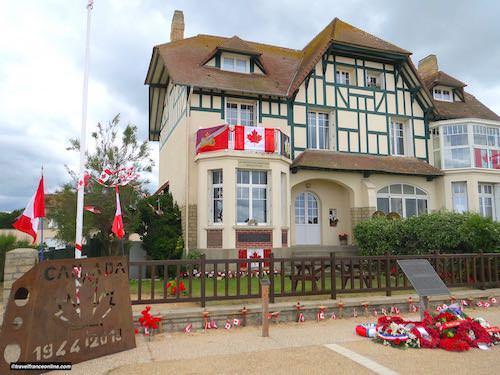 Juno Beach - Maison du Souvenir Canadien on D-Day 75th Anniversary