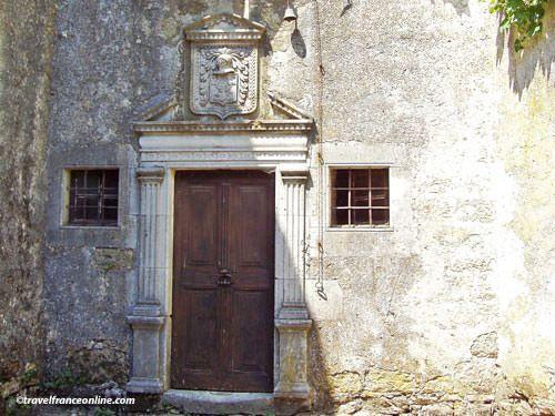 Knights Templar in Larzac - Coat-of-arms in La Couvertoirade
