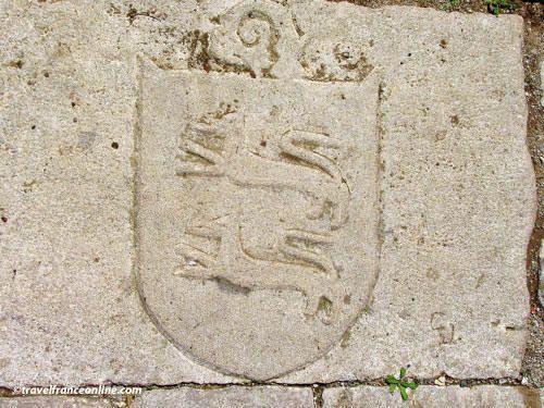Knights Templar in Aveyron - Coat-of-arms in Saint-Jean d'Alcas