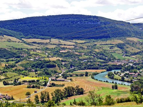 La Gaufresenque and river Tarn