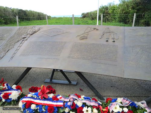 Wreaths laid at la Pointe du Hoc for D-Day 75th anniversary commemorations