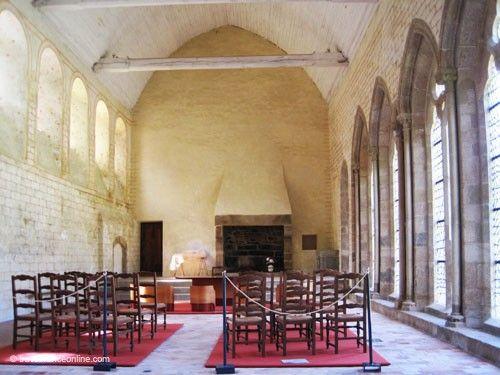 Abbaye Saint Magloire - Refectory