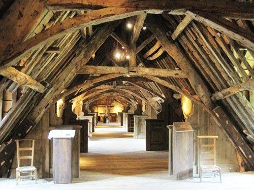Abbaye Saint Magloire - attic
