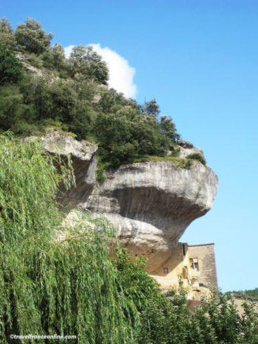 Fortress-museum in Les Eyzies de Tayac Sireuil