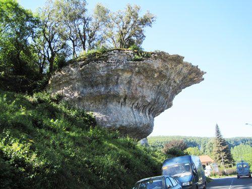 Roc de la Peine in Les Eyzies de Tayac Sireuil