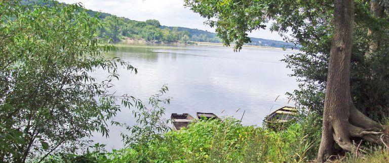 The River Loire and the Grande Levée d'Anjou