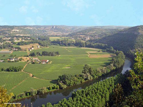 Lot Valley near Carjac