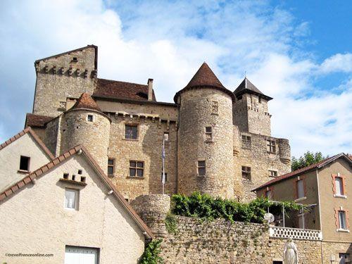 Chateau de Salvagnac-Carjac - Lot Valley