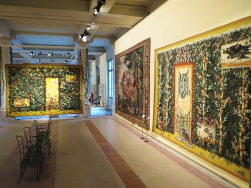 Lurcat's tapestries in the Gobelins in Paris