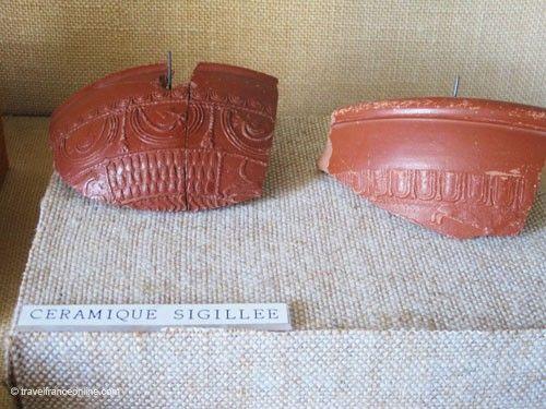 La Gaufresenque - Sigillated pottery
