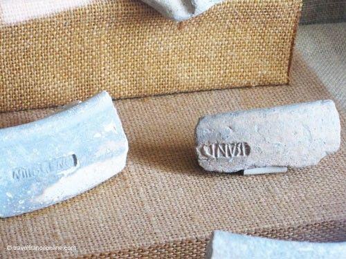 La Gaufresenque - Workshop stamp on Sigillated pottery