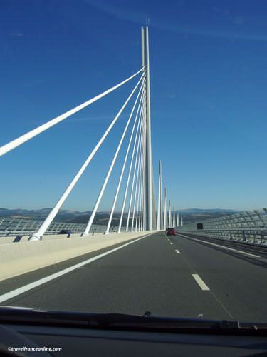 Millau Viaduct by car