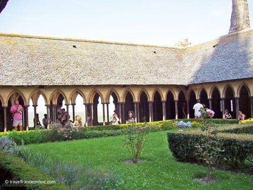 Mont St Michel cloister