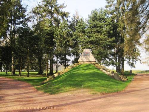 Newfoundland Memorial Park - 29th Highland Division Memorial slab