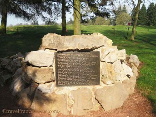 Newfoundland Memorial Park - John Oxenham dedication poem