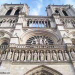 Notre Dame Cathedral - Detail facade