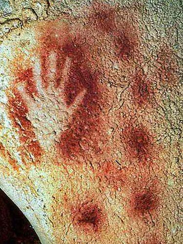 Pech Merle Cave - Negative hand