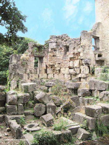Vestiges of the Gallo-Roman rampart - La Cite - antic Perigueux