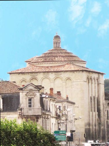 St. Etienne de la Cité Church - La Cite - antic Perigueux