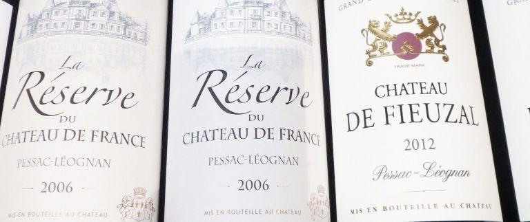 Pessac Leognan wines – Bordeaux vineyard