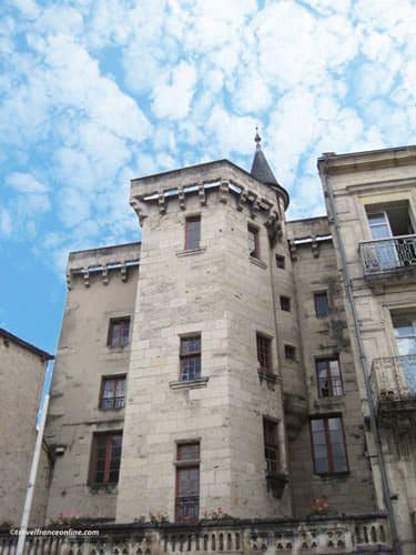 Puy St Front district - Hotel d'Abzac de Ladouze