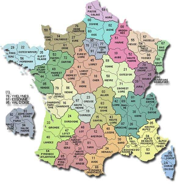 Map Of Regions Of France.Regions Of France Travel France Online
