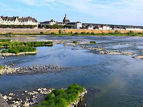 The River Loire at Blois