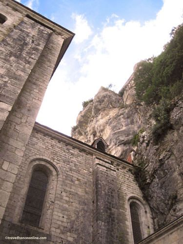 Saint-Sauveur Church in Rocamadour