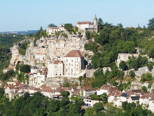 Episcopal city and village of Rocamadour