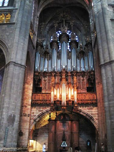 Cathedrale de Rodez - organ