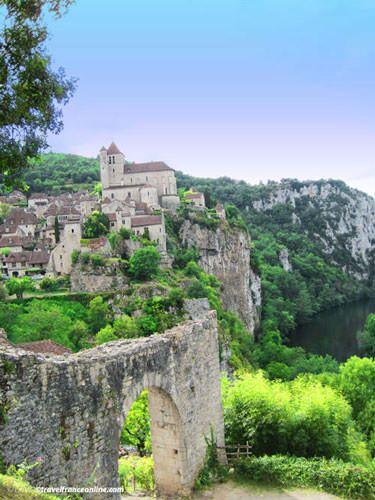 Saint Cirq Lapopie - Porte Pelisseria