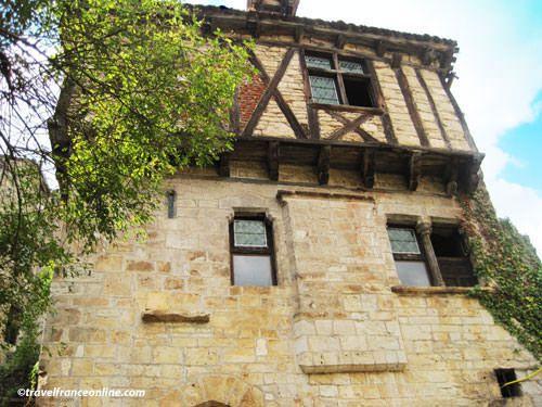Saint Cirq Lapopie - Medieval house