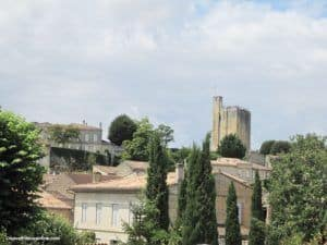 Castel du Roy used to proclaim the Vintage Banns in Saint Emilion