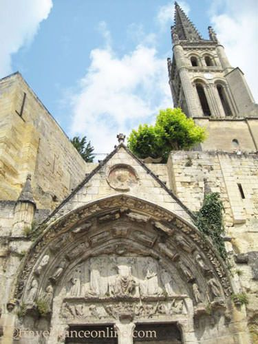 Monolith church in Saint Emilion