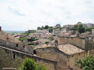General view of saint Emilion